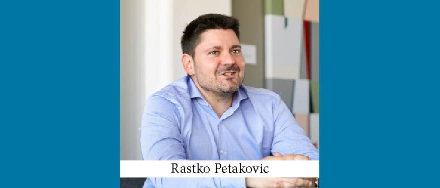 KN's Newest Senior Partner: Interview with Rastko Petakovic
