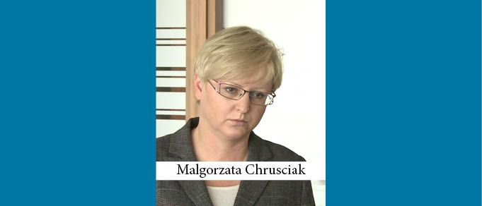 Former CMS Partner Malgorzata Chrusciak Joins EY Law
