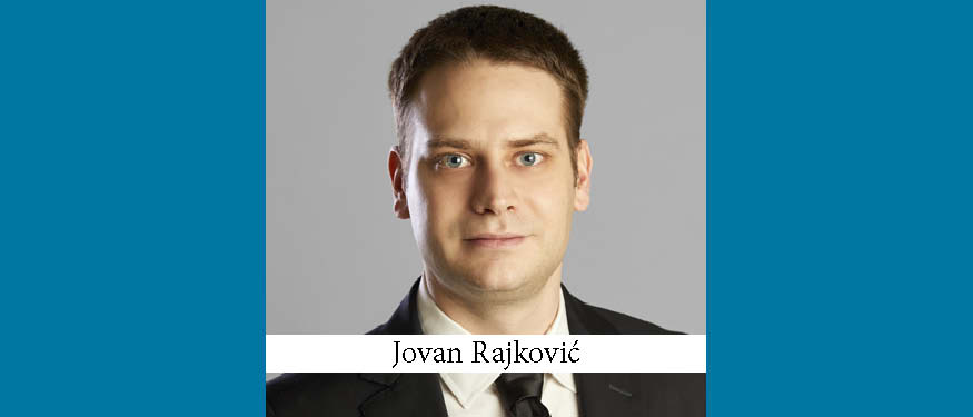 Jovan Rajkovic Joins Gecic Law as Media & IP Head