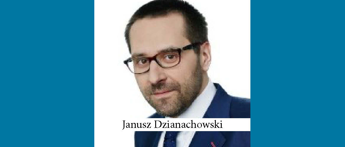 Real Estate Specialist Janusz Dzianachowski Promoted to Partner by Linklaters