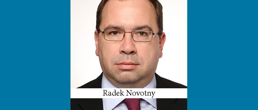 Novotny Becomes New Head of Legal at AERO Vodochody
