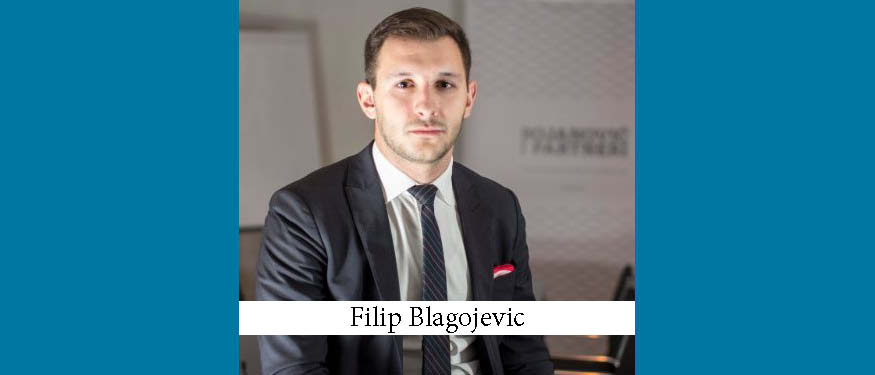 Bojanovic & Partners Partner Appointed Arbitrator at the Court of Arbitration of the Football Federation of Serbia