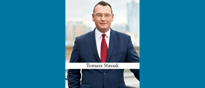 Wolf Theiss Warsaw Has New Head of Real Estate in Former Dentons Patner Tomasz Stasiak