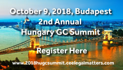 2018 Hungary GC Summit