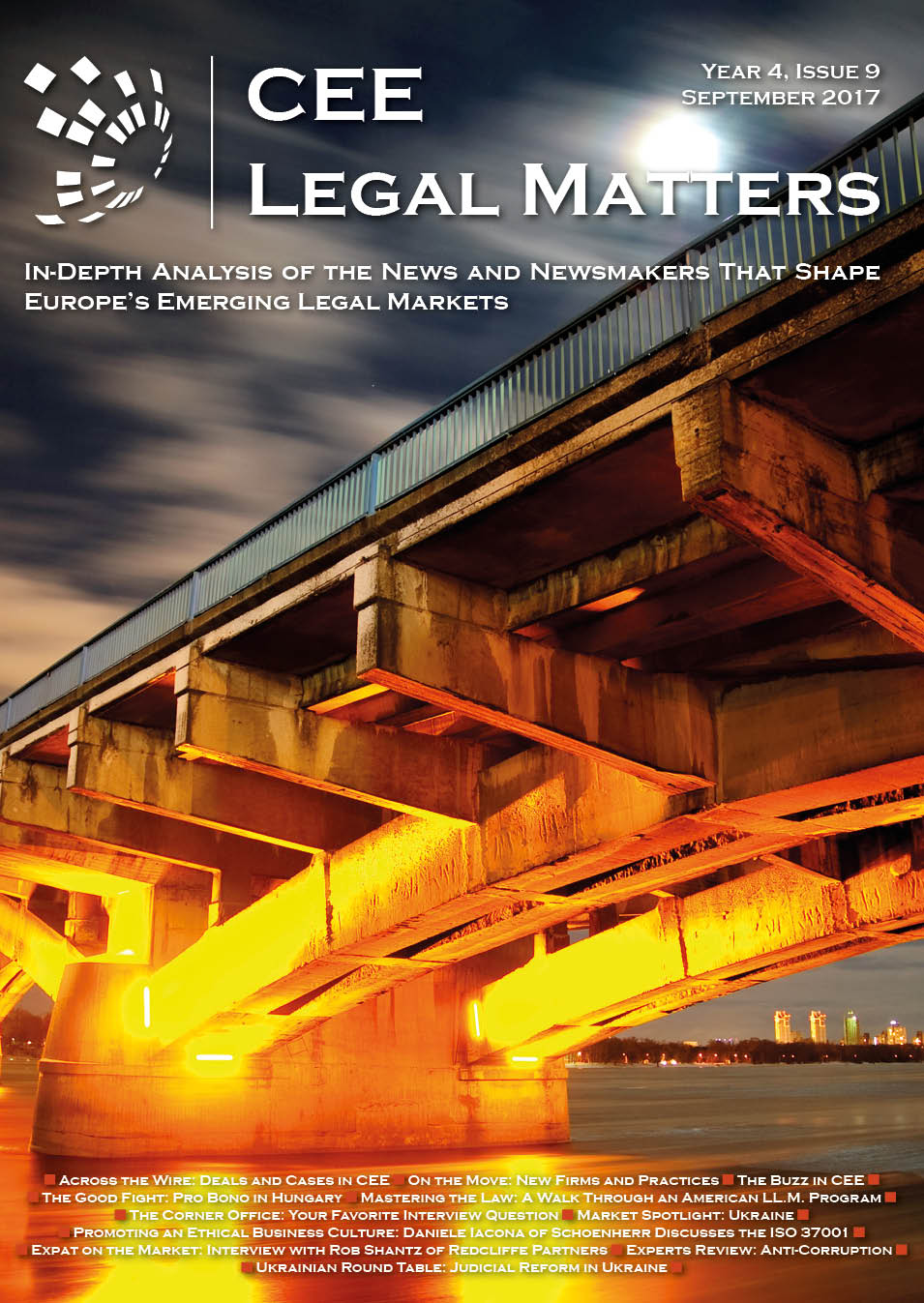 CEE Legal Matters: Issue 4.9.