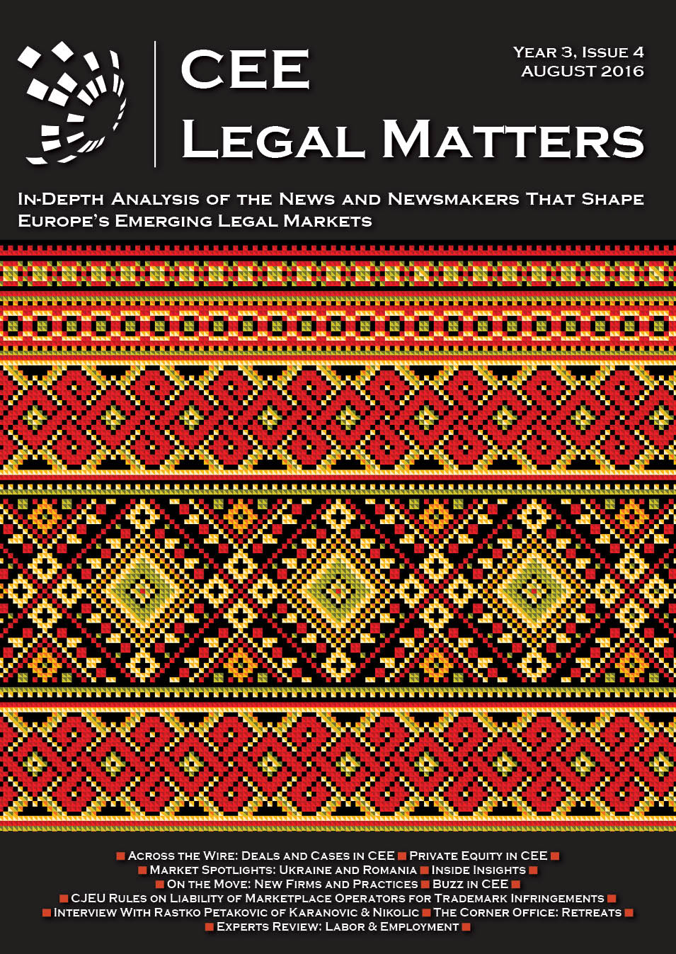 CEE Legal Matters: Issue 3.4.