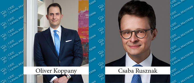 Preparing for Change: Oliver Koppany and Csaba Rusznak Step in at KNP Law
