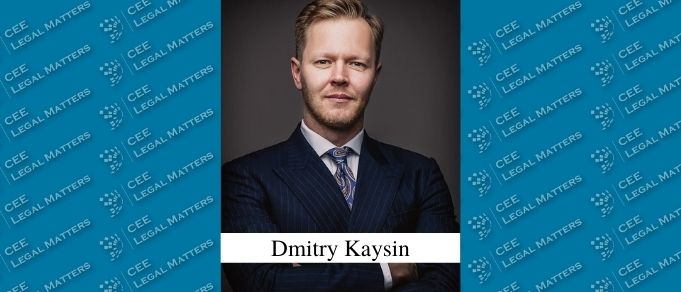 Dmitry Kaysin Promoted to Partner at Rybalkin, Gortsunyan & Partners