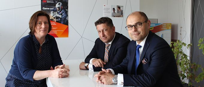 Face-to-Face: Jan Myska and Petr Syrovatko of Wolf Theiss and Edit Rosta of 3M