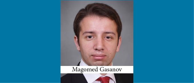 Magomed Gasanov is Promoted to Partner at Alrud