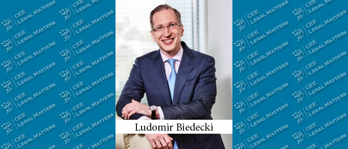 Ludomir Biedecki Promoted to Senior Counsel at Noerr Warsaw