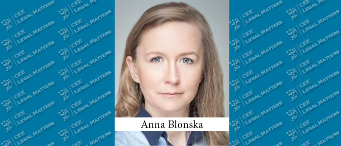 Anna Blonska Appointed Director of Legal Office at Polish Development Fund