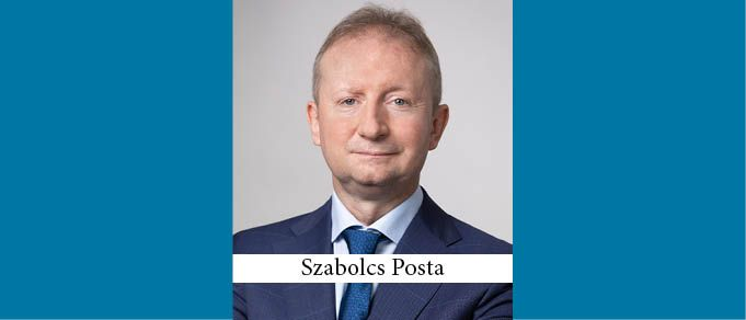 Szabolcs Posta Joins EY Law Office in Budapest