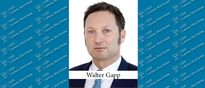 Walter Gapp Makes Partner at CMS in Vienna
