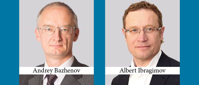 Gorodissky & Partners Promotes Andrey Bazhenov and Albert Ibragimov to Partner