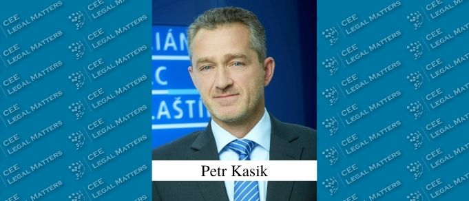 Petr Kasik Named New Managing Partner of Kocian Solc Balastik