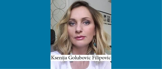 The Buzz in Serbia: Interview with Ksenija Golubovic Filipovic of Zivkovic Samardzic
