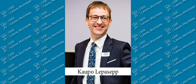 Kaupo Lepasepp Becomes Country Managing Partner for Sorainen in Estonia