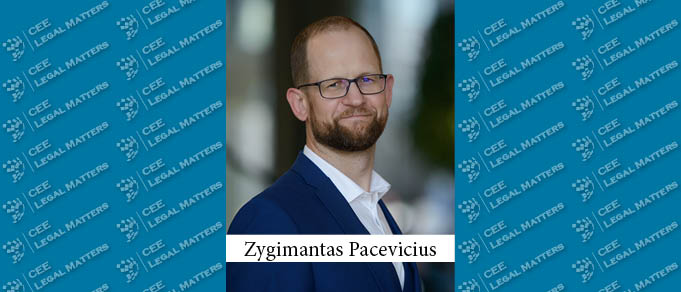 Zygimantas Pacevicius Moves from Sorainen in Cobalt in Lithuania
