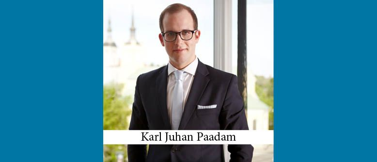 Karl Juhan Paadam New Managing Partner of PwC Legal in Central and Eastern Europe
