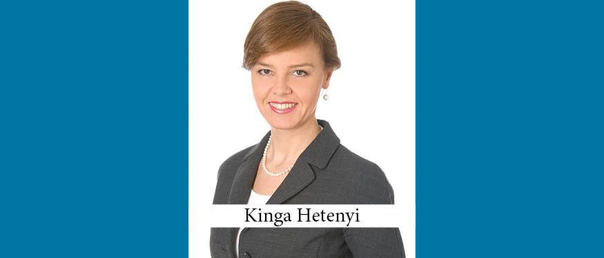 The Buzz in Hungary: Interview with Kinga Hetenyi of Schoenherr