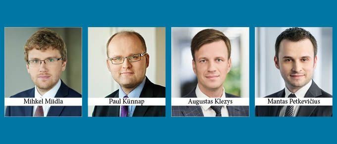 Four New Partners at Sorainen Estonia and Lithuania