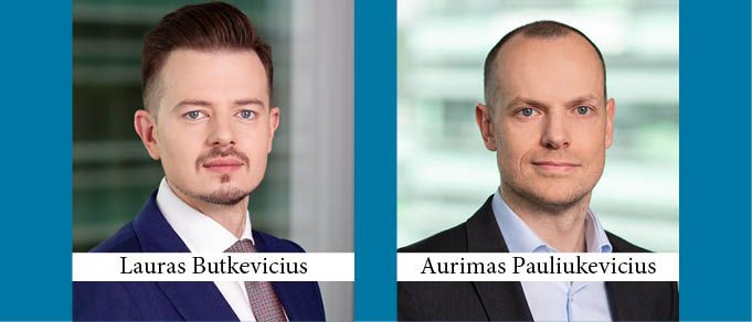 Lauras Butkevicus and Aurimas Pauliukevicius Promoted to Partner at TGS Baltic Lithuania