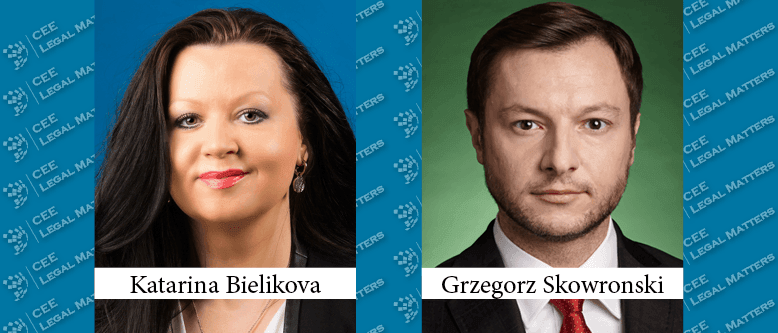 Katarina Bielikova and Grzegorz Skowronski Appointed Partner at Wolf Theiss