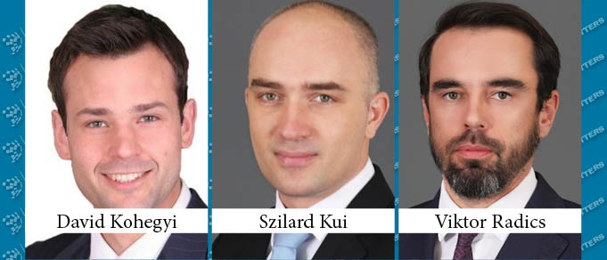 David Kohegyi, Szilard Kui, and Viktor Radics Promoted to Local Partner at DLA Piper Budapest