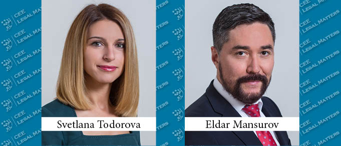 Svetlana Todorova and Eldar Mansurov To Co-Lead Peterka & Partners Turkish Desk