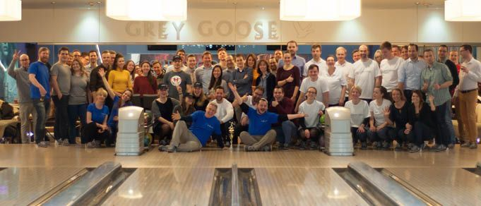 Dentons Claims the Prize: The 2018 CEELM Budapest Law Firm Bowling Challenge