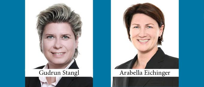 Schoenherr Promotes Gudrun Stangl to Equity Partner and Arabella Eichinger to Contract Partner