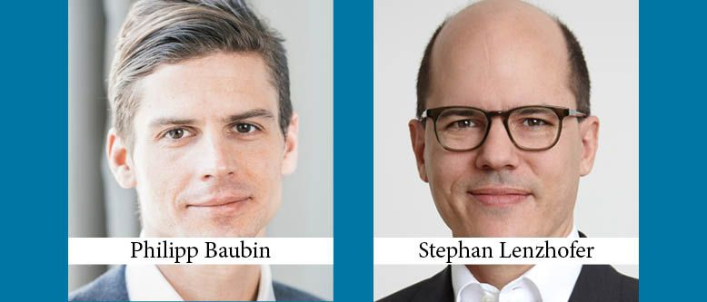Philipp Baubin and Stephan Lenzhofer Promoted to Equity Partner at Herbst Kinsky