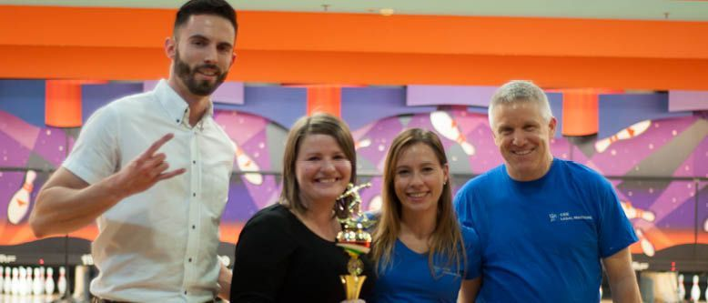 Competition for a Good Cause: DLA Piper is 3rd Annual Bowling Competition Champion