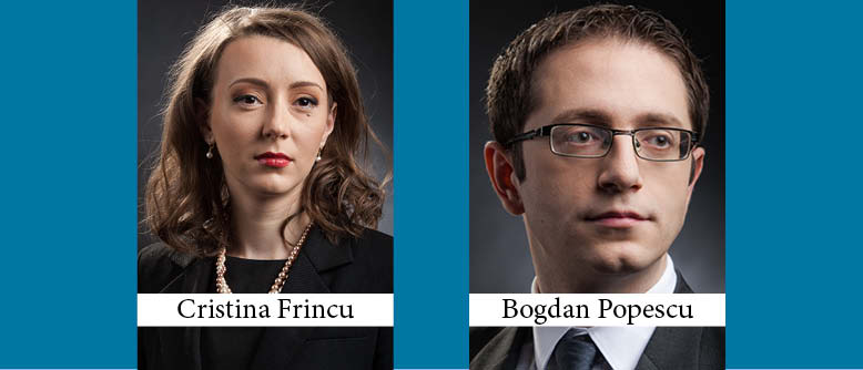 Cristina Frincu and Bogdan Popescu Promoted to Partner at Stoica & Associates