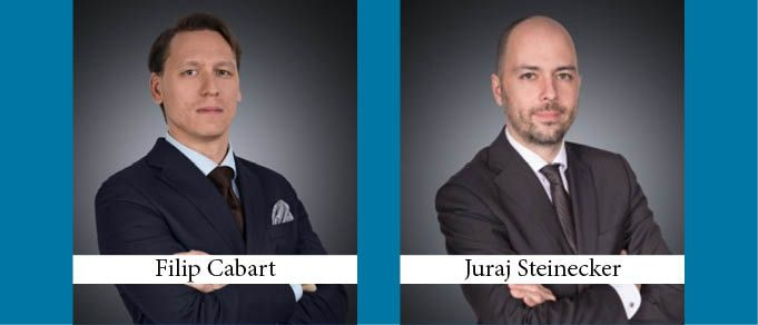 Filip Cabart and Juraj Steinecker Promoted to Partner at Havel & Partners