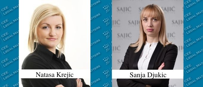 Natasa Krejic and Sanja Djukic Promoted to Senior Partner at Sajic
