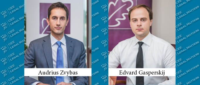 Edvard Gasperskij and Audrius Zvybas Become Associate Partners at Glimstedt