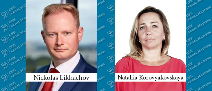 Nickolas Likhachov and Nataliia Korovyakovskaya Join Eterna Law