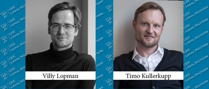 Villy Lopman and Timo Kullerkupp Make Partner at Rask