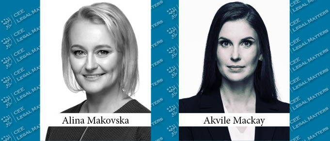 Alina Makovska and Akvile Mackay Promoted to Associate Partner at Walless