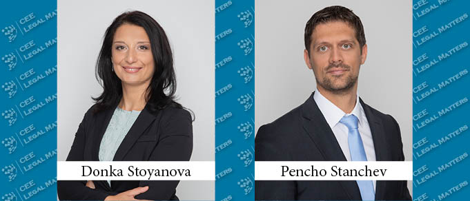 Donka Stoyanova and Pencho Stanchev Promoted to Partners at Dimitrov, Petrov & Co