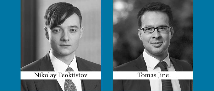 Nikolay Feoktistov and Tomas Jine Promoted to Partner at White & Case in Moscow and Prague