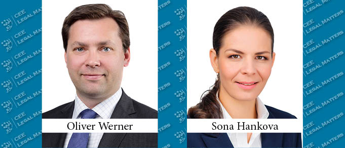 New Partner Oliver Werner Appointed Managing Partner at and Sona Hankova Joins CMS in Bratislava