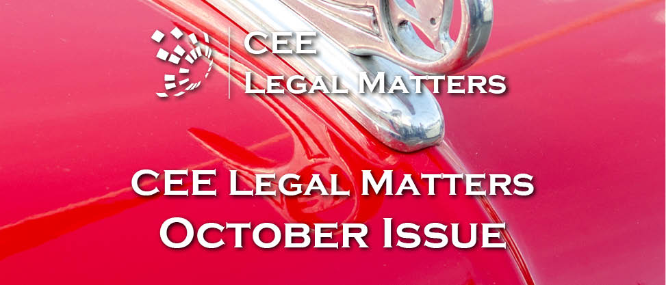Waxing Poetic: October 2019 Issue of CEE Legal Matters is Out Now!