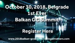 2018 Balkan GC Summit