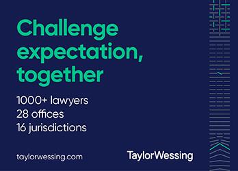Taylor Wessing - Side Banner