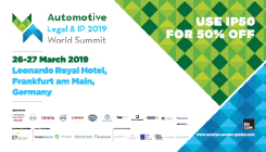 Automotive Legal & IP World Summit 2019