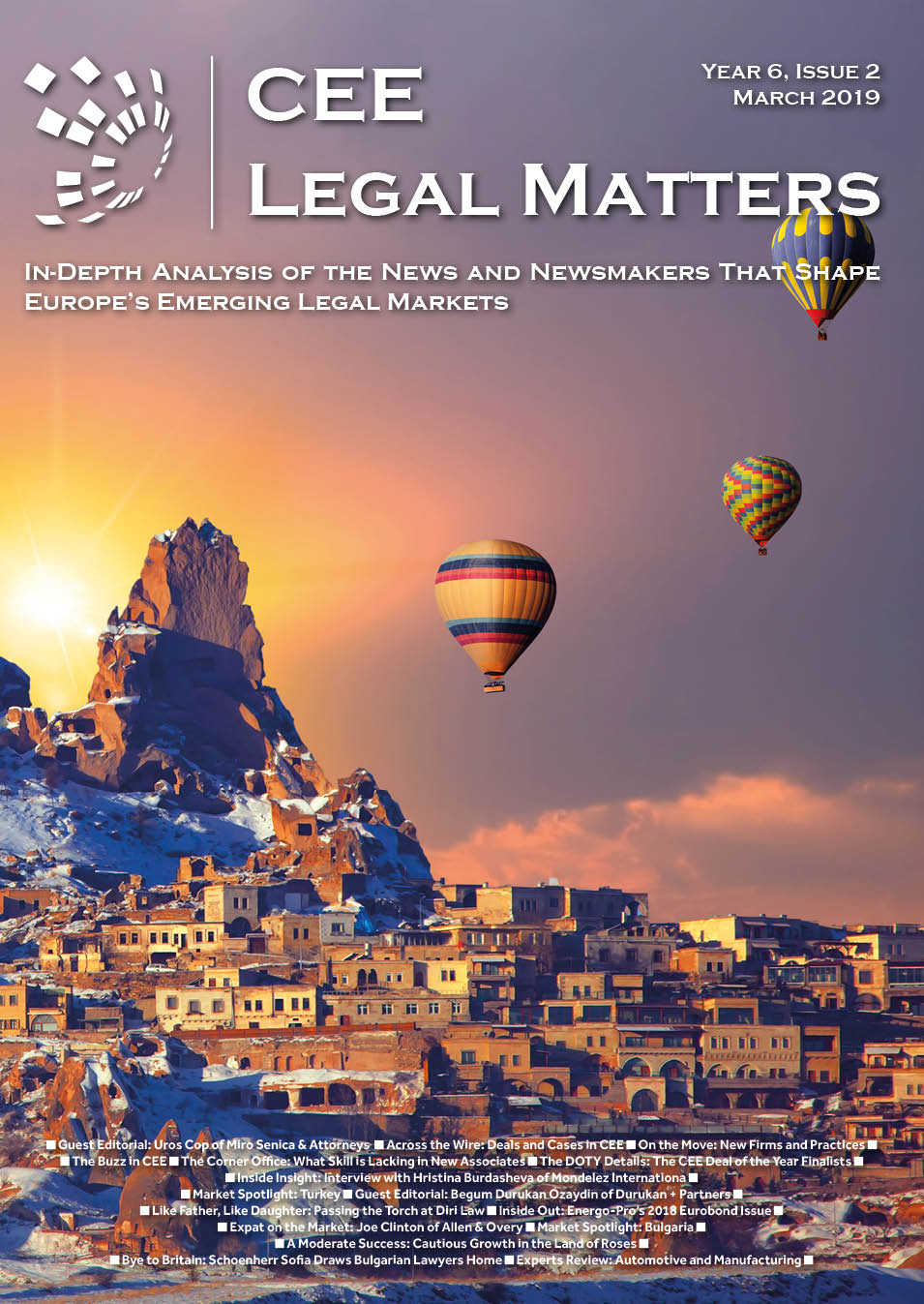 CEE Legal Matters: Issue 6.2.