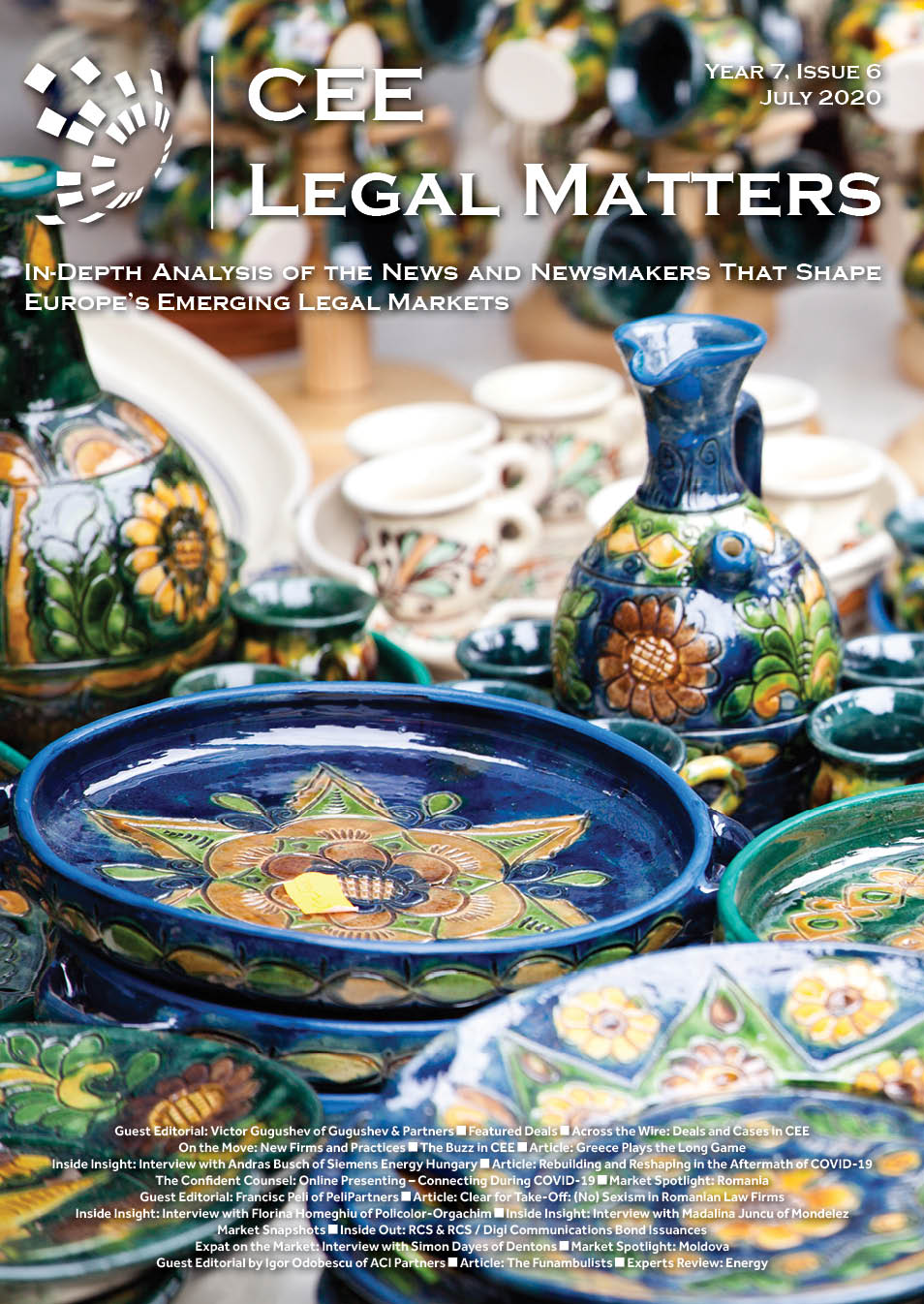 CEE Legal Matters: Issue 7.6